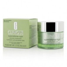 Clinique Superdefense Night Recovery For Very Dry To Dry Combination 50ml