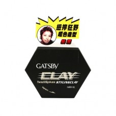 Gatsby Twist and Spikes Styling Clay 50G