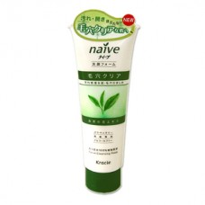 Kracie Naive Facial Cleansing Foam - Green Tea 110g