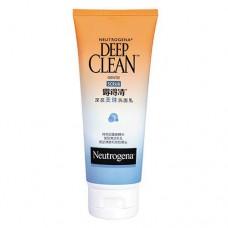Neutrogena Deep Clean Gentle Scrub Face Wash Cleanser 100g