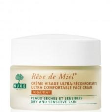 NUXE Reve De Miel Ultra Comfortable Face Cream wraps Dry and Sensitive 50ml
