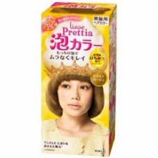 Kao Prettia Liese Bubble Hair Color Chiffon Beige